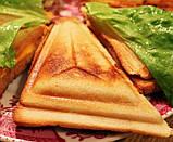 Бутербродница сэндвичница Domotec-1301, фото 3