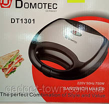 Бутербродница сэндвичница Domotec-1301