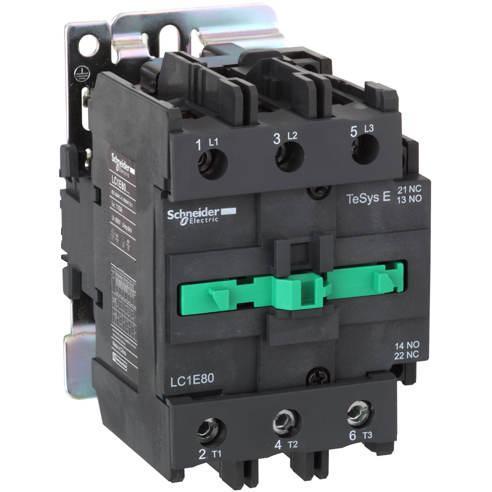 Контактор 80A 3Р 1 NO + 1 NC кат. ~220В 50Гц LC1E80M5