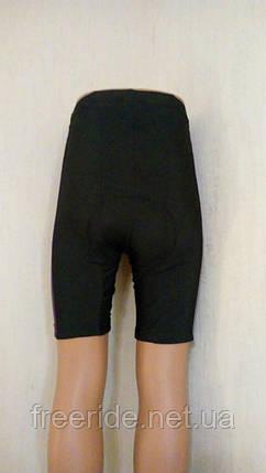 Велотрусы женские Endurac памперсом 1,6 см (L), фото 2