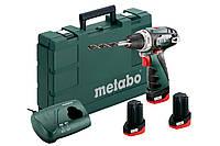 Аккумуляторный шуруповерт Metabo PowerMaxx BS Basic Set (600080960)