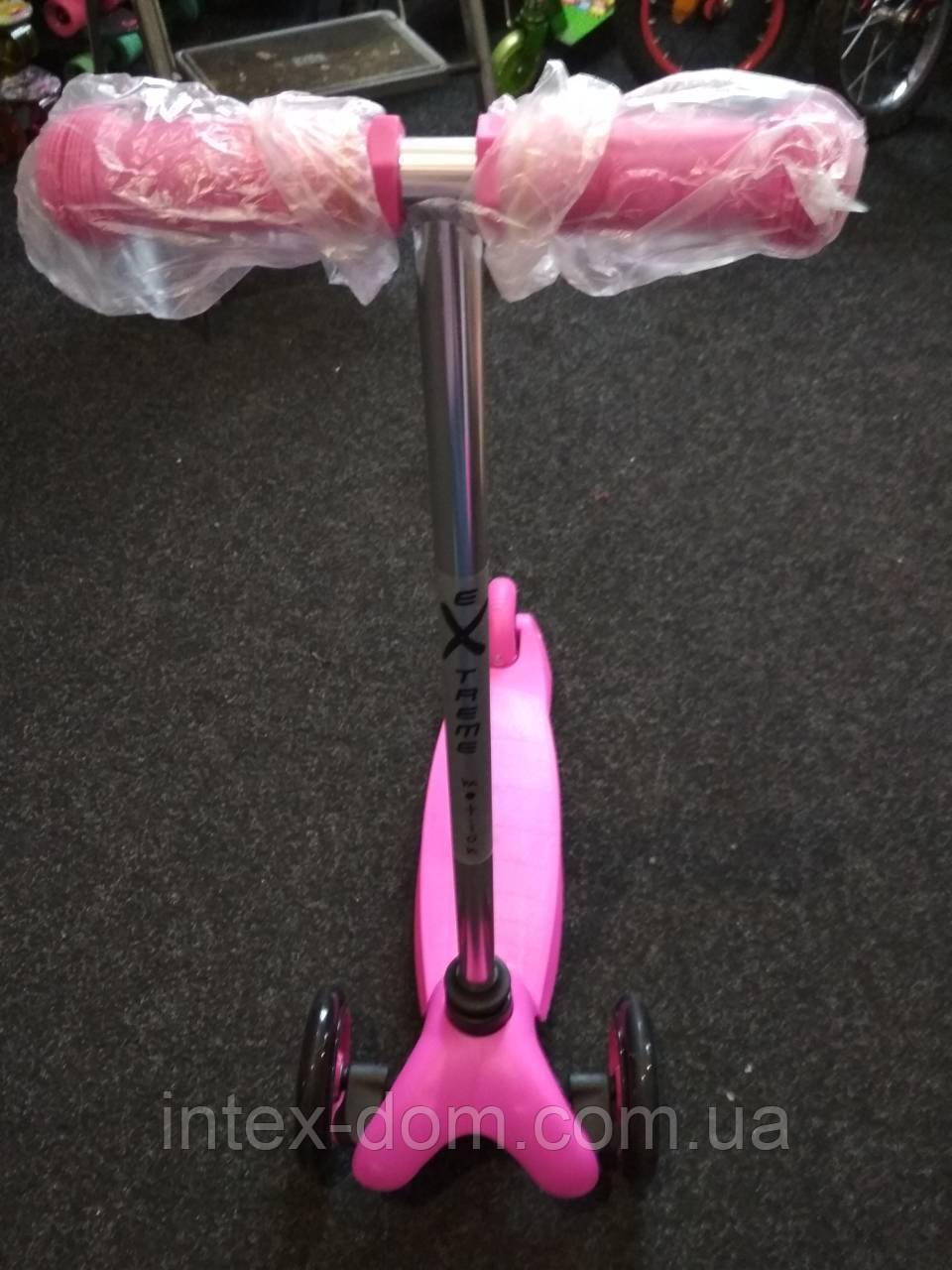 Самокат SC16001 (Розовый)