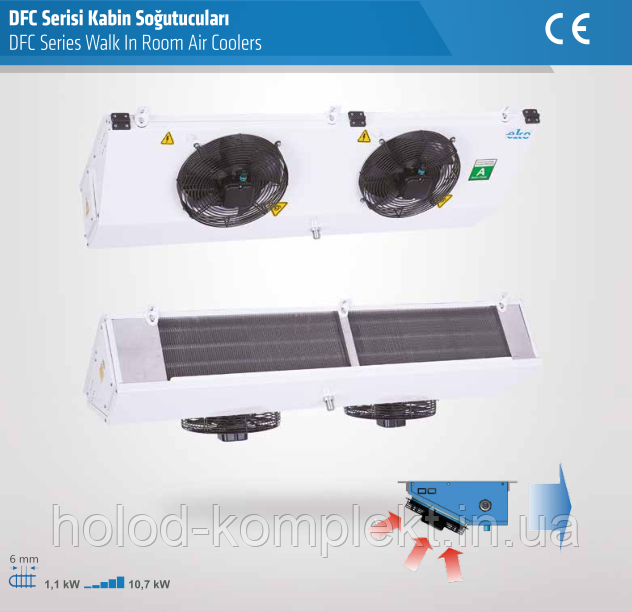 Воздухоохладитель потолочный EKO DFC 30.11