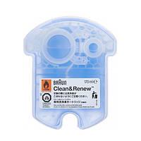 Картридж жидкость для чистки электробритв Braun CCR Clean & Renew (1 шт.)