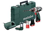 Аккумуляторный шуруповерт Metabo PowerMaxx BS Quick Basic SET (600156910)