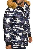Мужская зимняя куртка OZONE камуфляжная, фото 2