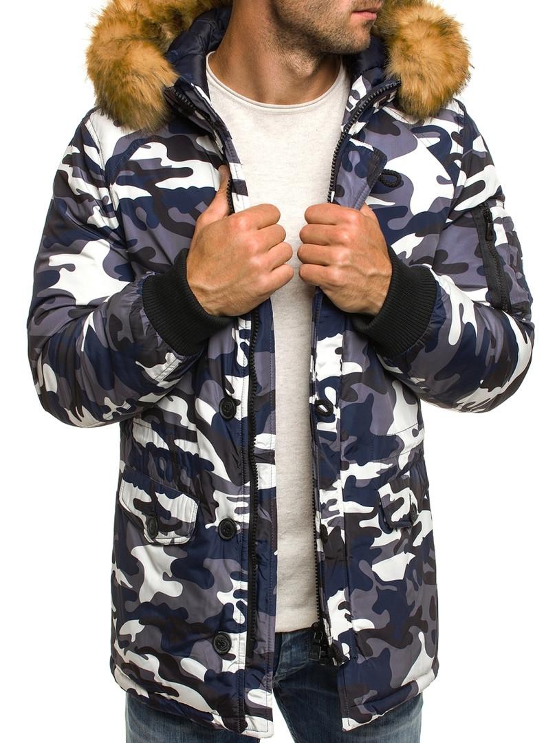 Мужская зимняя куртка OZONE камуфляжная