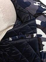 Мужская зимняя куртка OZONE камуфляжная, фото 3