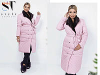 93307e1e155 Пальто женское стеганое в Украине. Сравнить цены