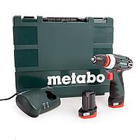 Аккумуляторный шуруповерт Metabo PowerMaxx BS Quick Basic (600156500)