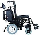 Коляска инвалидная, с двигателем, складная JT-100, фото 2