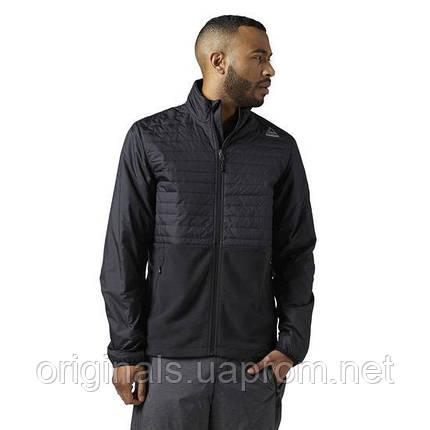 Спортивная мужская куртка Reebok Outdoor Combed Fleece M BR0457, фото 2