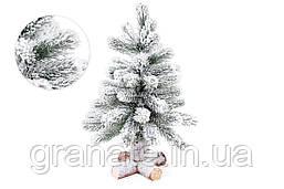 Декоративная елка, ель заснеженная 45 см, 45 веток