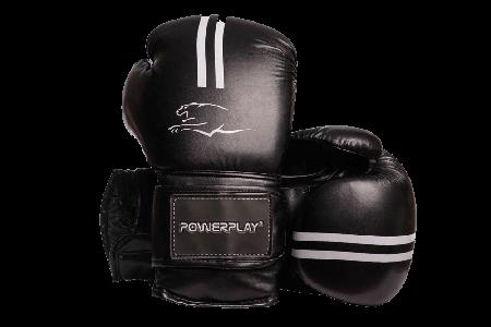 Боксерські рукавиці PowerPlay 3016 Чорні PU