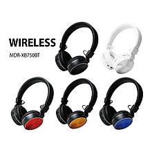 Bluetooth наушники Sony MDR-XB750BT (Bt/microSD/AUX/FM)