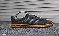 Мужские кроссовки Adidas Hamburg (ТОП РЕПЛИКА ААА+)