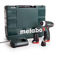 Аккумуляторный шуруповерт Metabo PowerMaxx BS Basic (600080500)