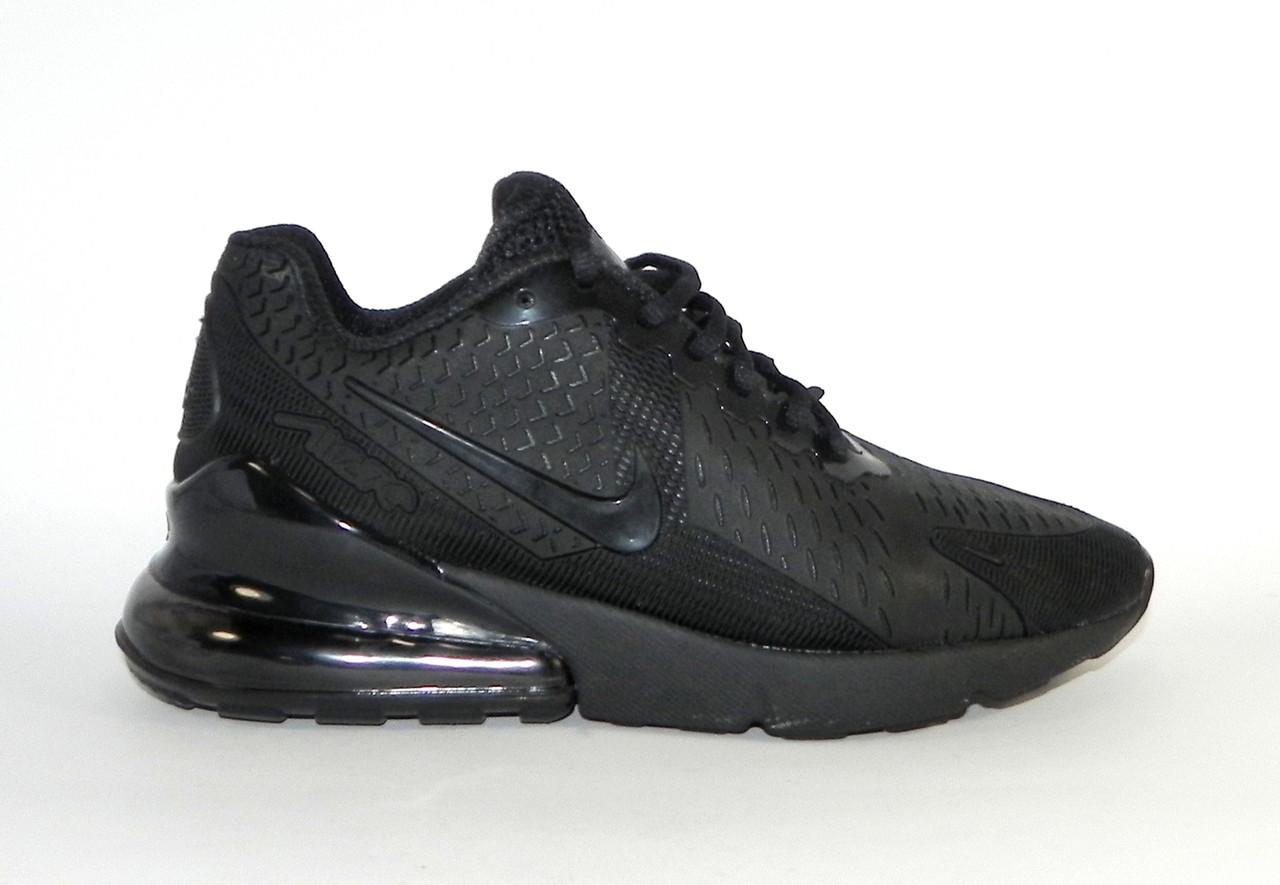 Кроссовки мужские Nike Air Max 270 Triple Black AH8050-001 (в стиле Найк) 8a3b954ff2f