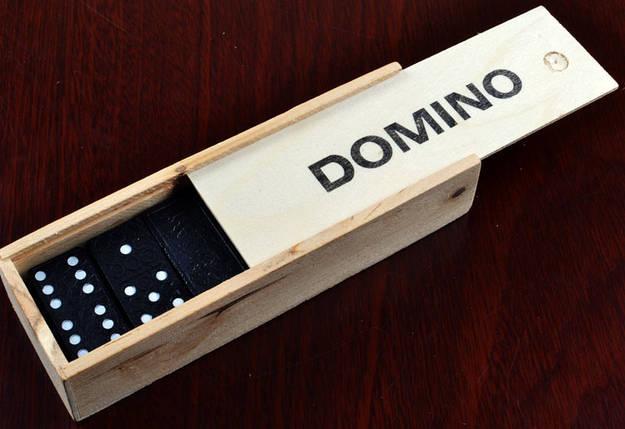Доміно в дерев'яному пеналі 4007D, фото 2