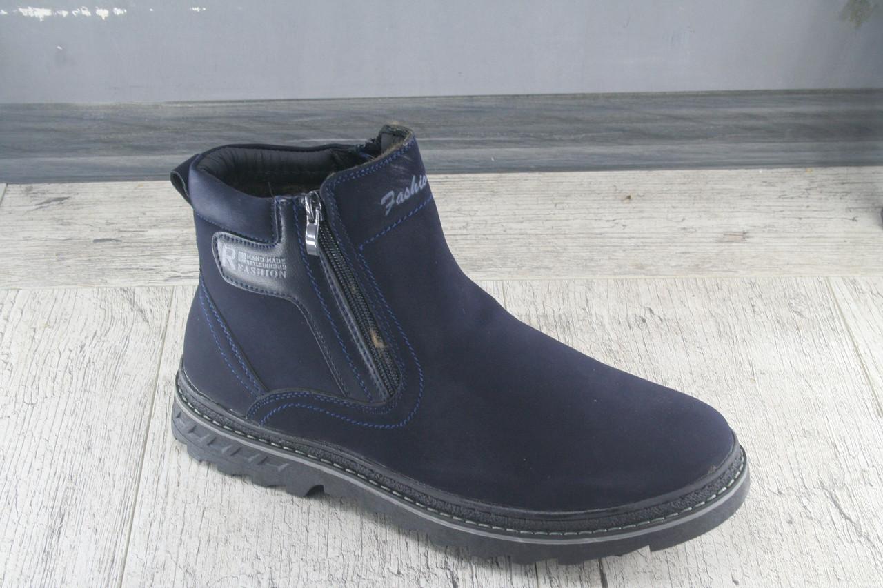 Ботинки мужские зимние Nasite, обувь теплая, повседневная, Размеры 40-45