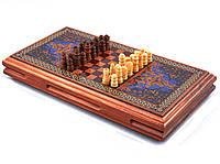 Игровой набор 3в1нарды шахматы и шашки (32х32 см) XLY-730