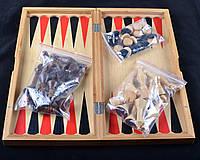 Игровой набор 3в1 нарды шахматы и шашки (39х39 см) X-409