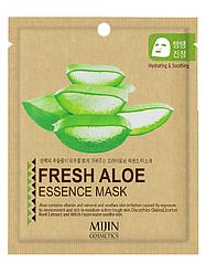 Тканинна Маска Алое Mijin Essence Mask Fresh Aloe