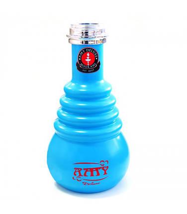 Колба AMY Deluxe на Click внутренний матовый 690 синяя, фото 2