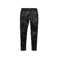 Нарядные черные штаны, брюки подростковые  с пайетками 15 лет, фото 1
