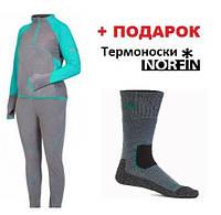 Термобелье микрофлис Norfin Women Performance Deep Blue