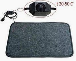 Теплый коврик 60 на 60 см Boden t20-50С (серый)