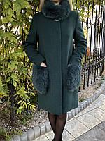 Кашемировые зимние пальто с мехом в Украине. Сравнить цены cad430d3c81cf