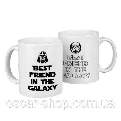 Чашки парные Star wars  / чашки на подарок / набор чашек 330 мл