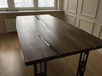 Большой стол из двух слэбов, фото 1