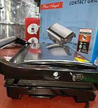 Гриль-барбекю з терморегулятором PA-5404, CONTACT GRILL 2200W, фото 4