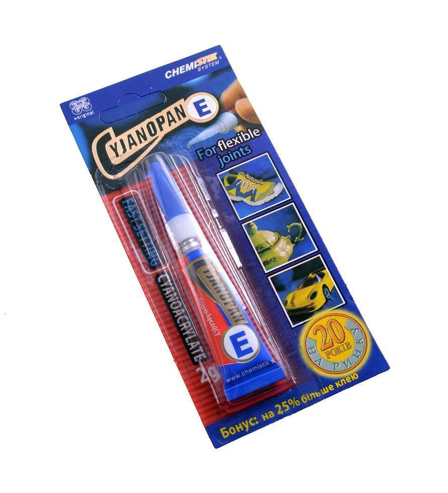 Супер клей Cyjanopan E-синий
