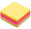Блок бумажный для заметок 85*85*400 цветной