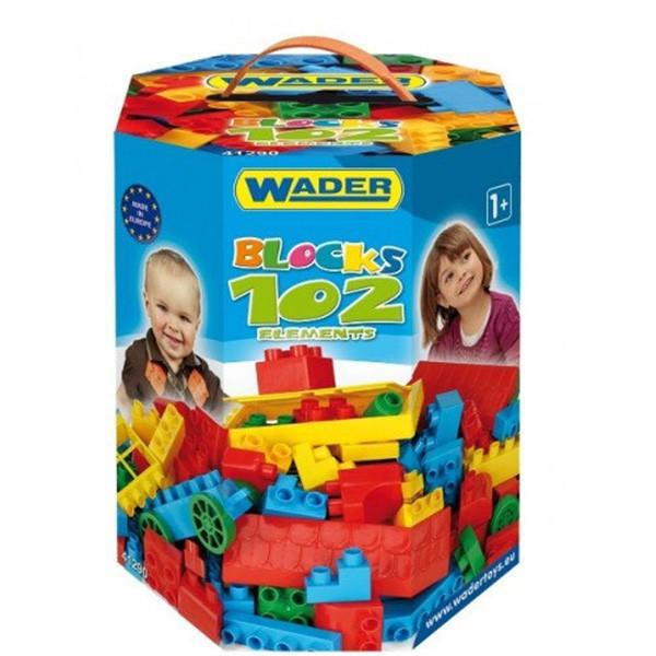 Конструктор 102 элемента Wader (41290)