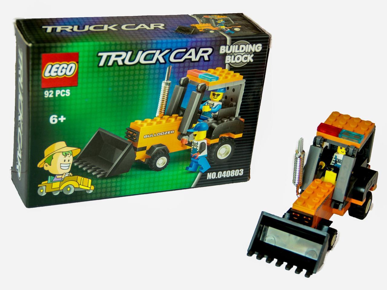 Конструктор LEGO Truck Car Bulldozer + LEGO Truck Car (20181116V-1075)