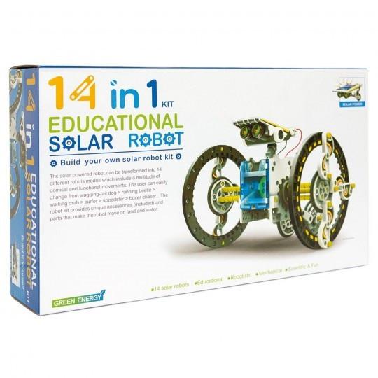 Конструктор SOLAR ROBOT 14 в 1 (AB001)