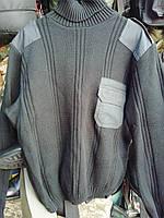 Форменный свитер охранника с горлом