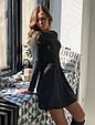 Теплое трикотажное платье, фото 7