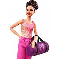 Кукла барби Лаура Фернандез гимнастка Laurie Hernandez Gymnast Barbie Doll