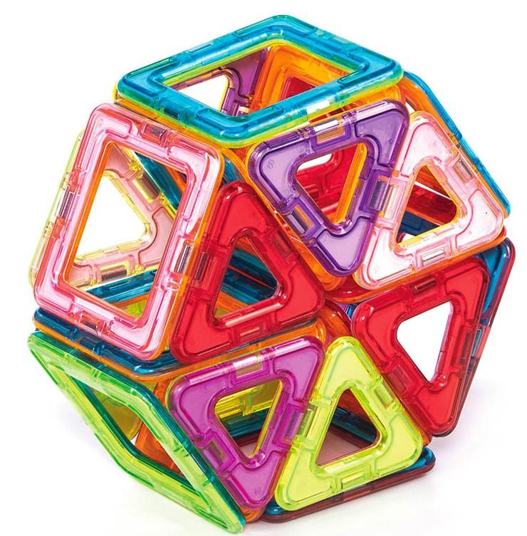 Магнитный конструктор Magnetic land Разноцветный 42 детали (011)