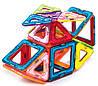Магнитный конструктор Magnetic land Разноцветный 42 детали (011), фото 5