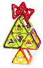 Магнитный конструктор Magnetic Land Зеленый+ 42 детали (З-042), фото 5