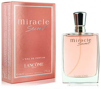 Lancome Miracle Secret парфюмированная вода 100 ml. (Ланком Миракл Секрет)