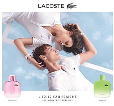 Lacoste Eau De Lacoste L.12.12 Pour Elle Eau Fraiche туалетная вода 100 ml. (Лакост Л.12.12 Пур Ель Еау Фреш), фото 2