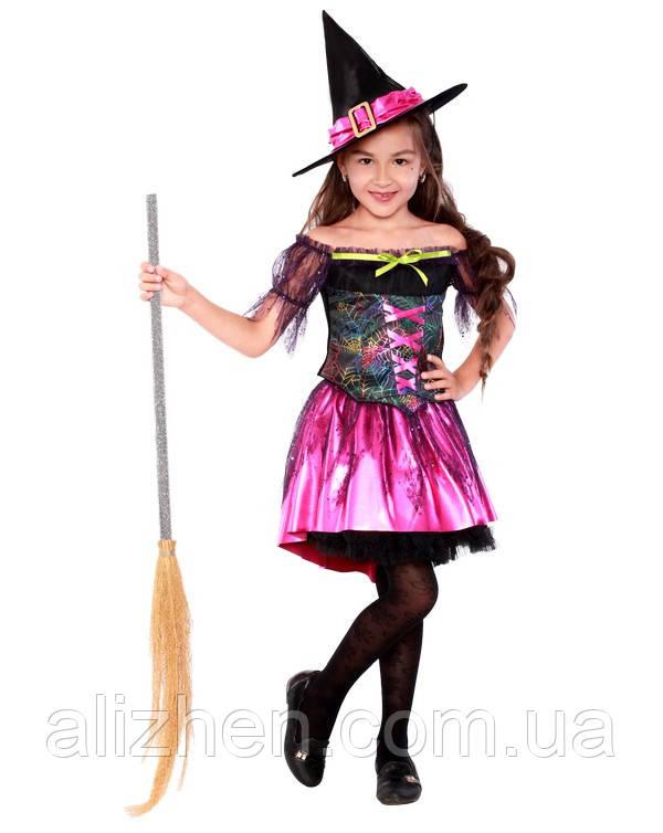 Ведьмочка. Комплект - кофточка, юбка, шляпа (2090)