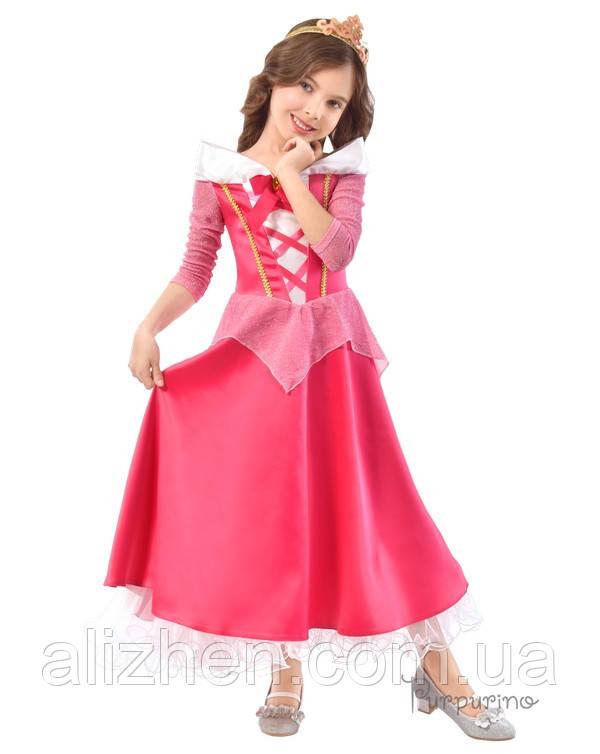 Принцесса Аврора. Комплект - платье, корона (2128)